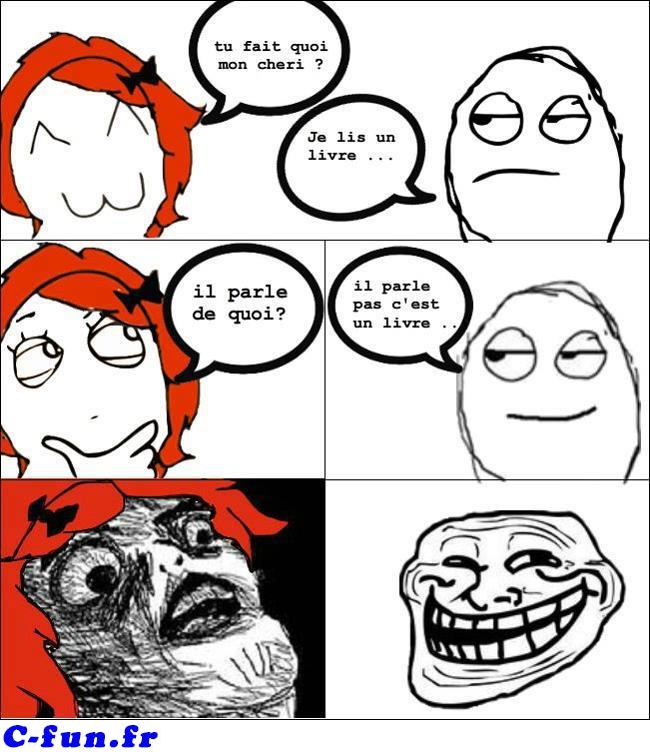 image drole troll